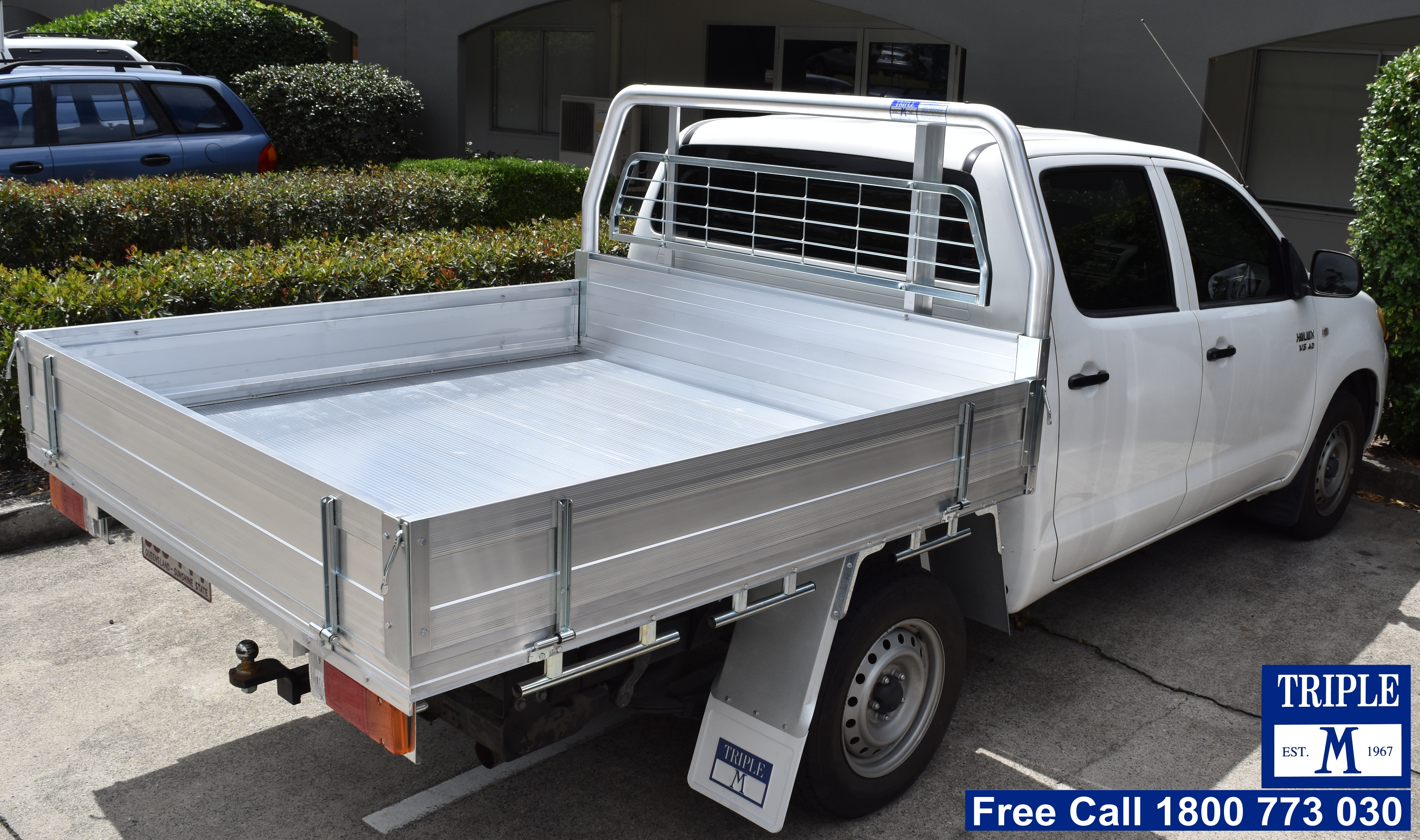 Aluminium Ute Tray With Quick Lock Tech Triple M Ute