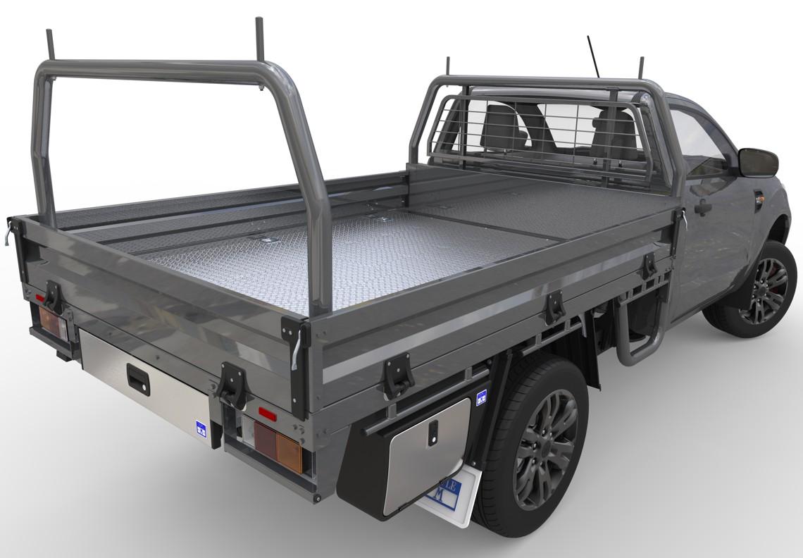 Steel Ute Tray Triple M Ute Trays Triple M Truck Bodies